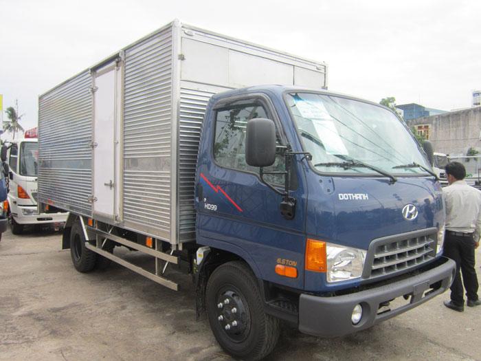 Xe tải Hyundai Thùng kín chuyên dụng
